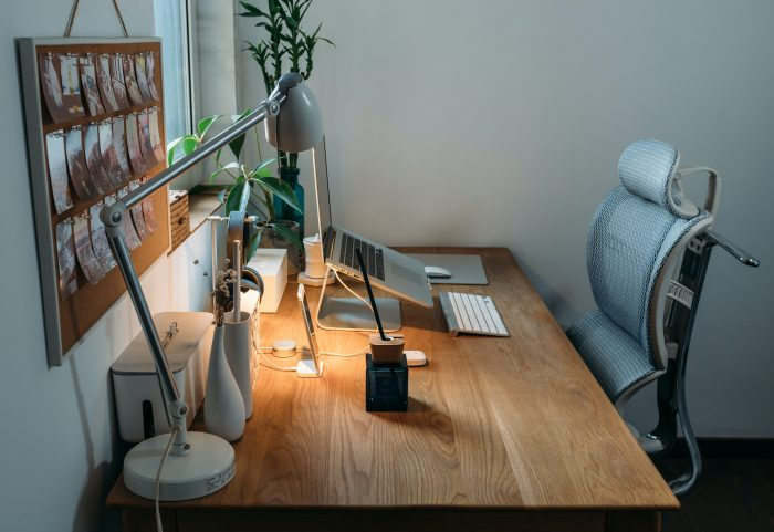 Ergnonomic chair in hoime setup